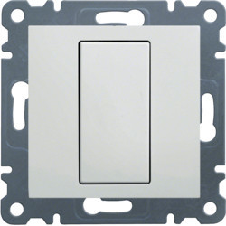 WL7010 - lumina 2 Espelho cego, branco HAGER EAN:8694407000774