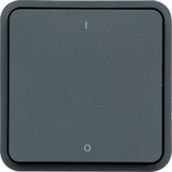 WNA008 - cubyko - Interruptor bipolar 0/1, cinz HAGER EAN:3250617174084