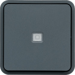 WNA023 - cubyko - Bot.simples c/aviso/sinalz, cnz HAGER EAN:3250617174237