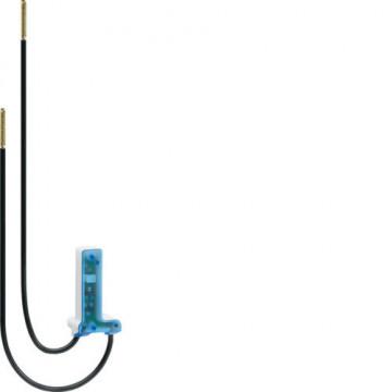 WUZ682 - cubyko - LED azul 12-28V, com fios HAGER EAN:3250617032513