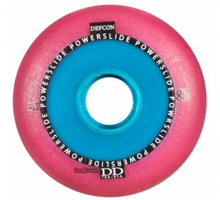 Powerslide Defcon Pink 80 mm