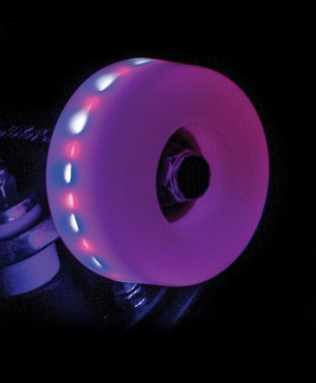 Rio Roller Light Up Wheels 54x32mm (Pack 4un)