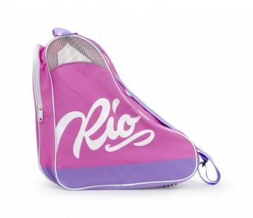 Rio Roller Script Skate Bag Pink/Lila - Saco de Transporte