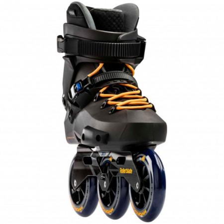 Rollerblade Twister Edge 3WD 110 - Black/Mango