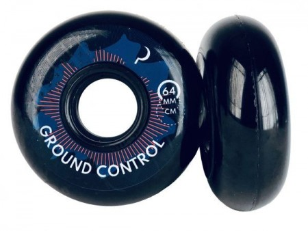 Ground Control - Wheels 64mm/90A Turbulence (4 pack)
