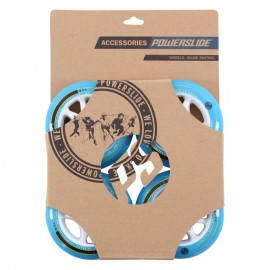 Powerslide Infinity Wheels II Blue  84MM (Pack 4un)