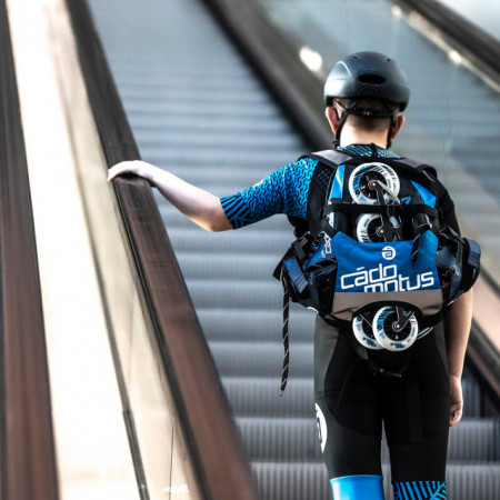 Cádomotus Urban Flow Backpack Blue
