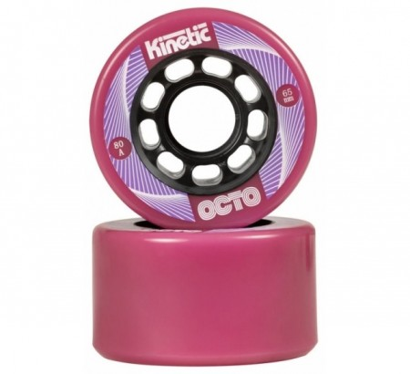 Imagens OCTO Kinetic - Outdoor Wheels 65mm*38mm/80a, pink, 4-Pack