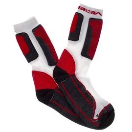 SEBA Socks White & Red