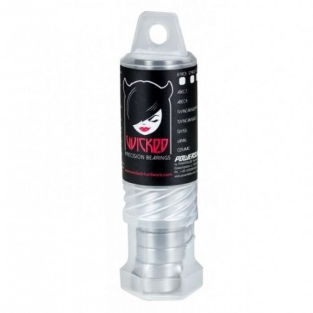 WICKED Rolamentos Freespin ABEC 9 - 16-Pack Tube