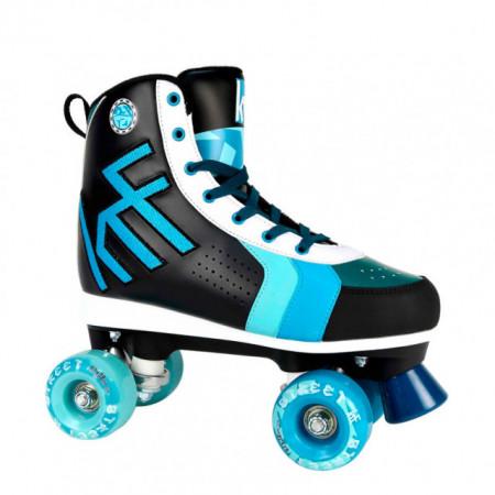 KRF Quad Roller Street - Preto/Azul