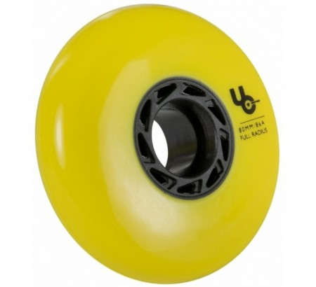 Imagens UNDERCOVER Team 80mm/86a, full Radius, yellow, 4-Pack