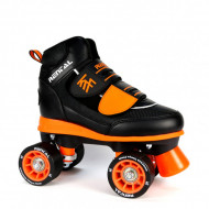 KRF Roller Rental Junior - Preto/Laranja