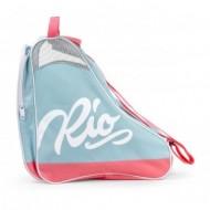 Rio Roller Script Skate Bag Teal/Coral - Saco de Transporte