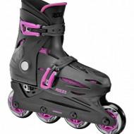 Roces Orlando III Black/Pink - Patins Ajustáveis