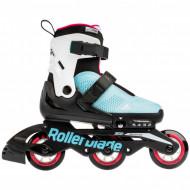 Rollerblade Microblade Free 3WD - Blue/Raspberry