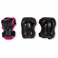 Rollerblade Skate Gear Junior W 3-Pack Preto/Rosa