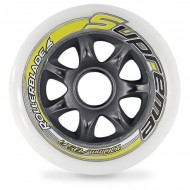 Rollerblade Supreme Wheels 100mm/85A - Pack 8un