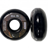 Ground Control Earth City Wheels 60mm 90A Black (4 pack)