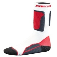 SEBA Socks White & Red