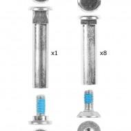 Rollerblade Eixos 8mm Para Chassi Composite
