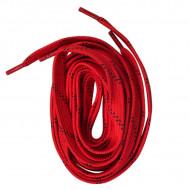 Ground Control Hockey Laces, Red - Cordões Hóquei Vermelho
