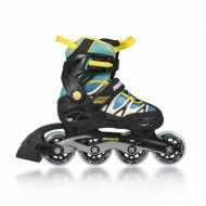 Powerslide Phuzion Orbit Boys - Amarelo/Azul