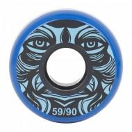 KALTIK Face Blue Wheels 59mm/90A - 4 pack