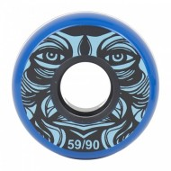 KALTIK Face Blue Wheels 59mm/90A - 4 pack