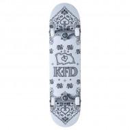 """KFD Bandana Skate Completo 8"""" White"""