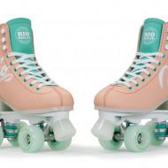 Rio Roller Script - Peach/Green