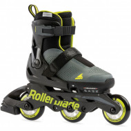 Rollerblade Microblade Free 3WD - Atntracite/Verde Lima