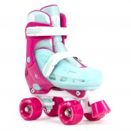 SFR Hurricane II Pink/Blue - Patines Ajustables