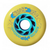 GYRO Crazy Ball 80mm/85A Yellow - Pack 8 Rodas