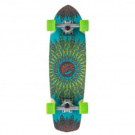 Mindless Longboard Mandala - Blue/Green