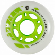 Powerslide Hurricane 76mm/85A Green Core - unit