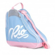 Rio Roller Script Skate Bag Light Blue/Pink - Saco de Transporte