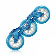 Chassi Completo Powerslide Megacruiser 125MM Azul