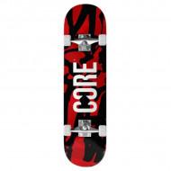 "CORE C2 Skate Completo Red Splat 7.75"""