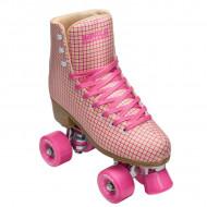 Impala Rollerskates Pink Tartan