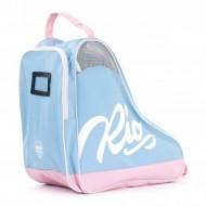 Rio Roller Script Skate Bag Light Blue/Pink - Saco de Transporte