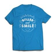 RS T-shirt Roller And Smile - Camiseta
