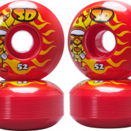 Speed Demons Skateboard Wheels Hot Shot 4-Pack