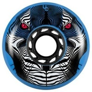 UNDERCOVER Tiger Wheel 80mm/88A - Blue (Bullet Radius)