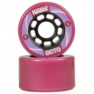 OCTO Kinetic - Outdoor Wheels 65mm*38mm/80a, pink, 4-Pack