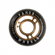 Famus Wheels - Metal Core 60mm/88A - White - 4 pack