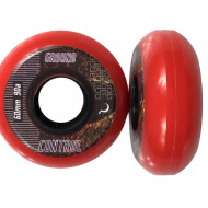 Ground Control Earth City Wheels 60mm 90A red (4 pack)