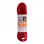 MyFit Waxed Laces Red - Cordões Encerados