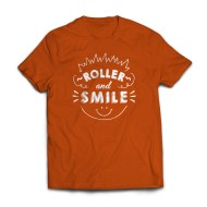 RS T-shirt Roller And Smile