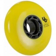 UNDERCOVER Team 80mm/86a, full Radius, yellow, 4-Pack